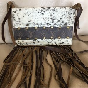 Leather and Rawhide CROSSBODY
